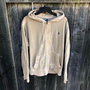 🐴🐴 Vintage Ralph Lauren military style hoodie